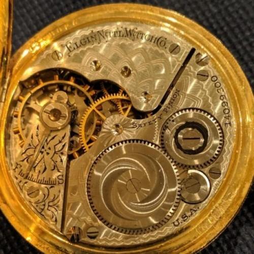 Elgin National Watch Co  Pocket Watch Serial Number Lookup & Identify