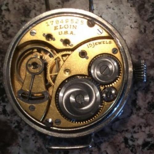 Elgin Grade 377 Pocket Watch Image