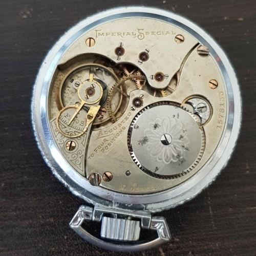 Illinois Grade 175 Pocket Watch Image