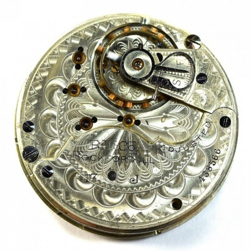 Rockford Grade 62 Pocket Watch Image