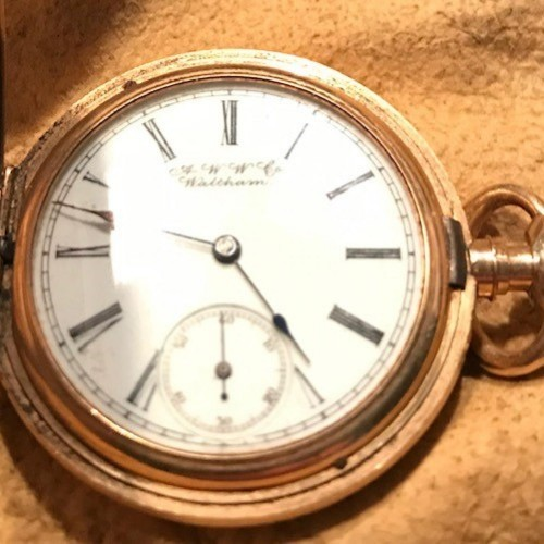 Waltham Grade R Pocket Watch Image