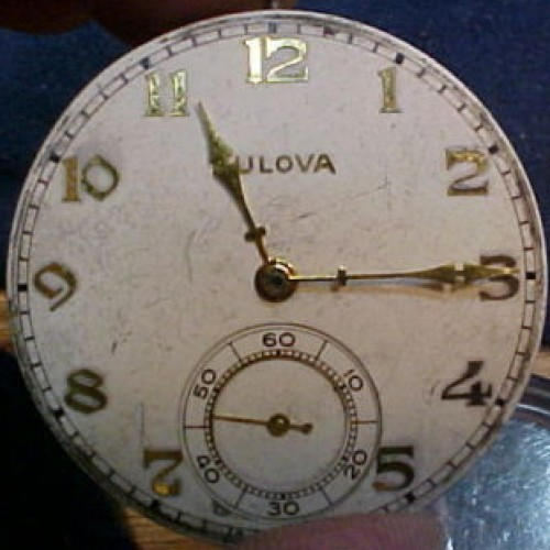Bulova Grade 17AH Pocket Watch Image