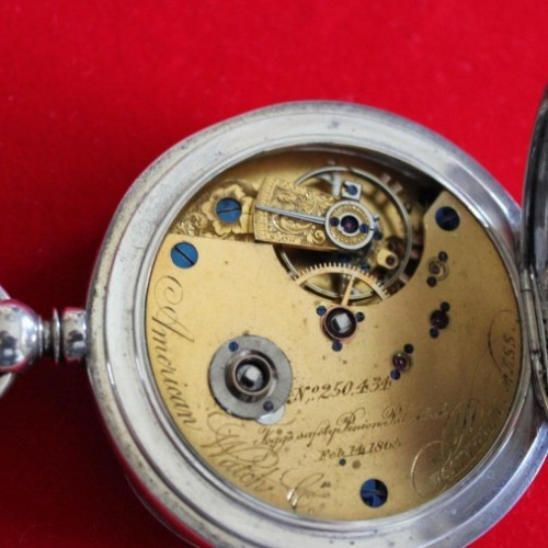 Waltham Grade A.W.Co. Pocket Watch Image