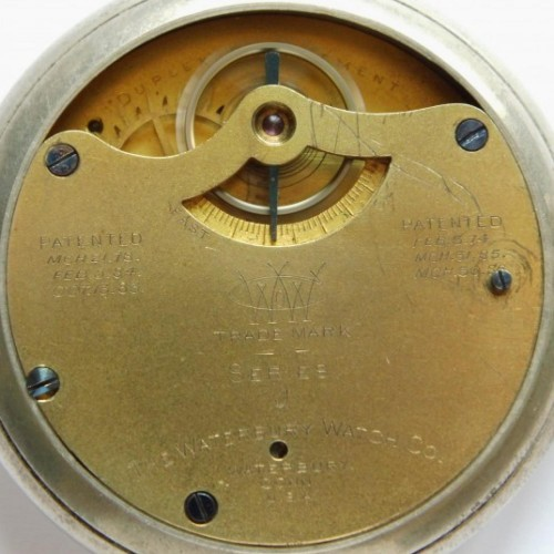 Waterbury Watch Co. Grade  Pocket Watch Image