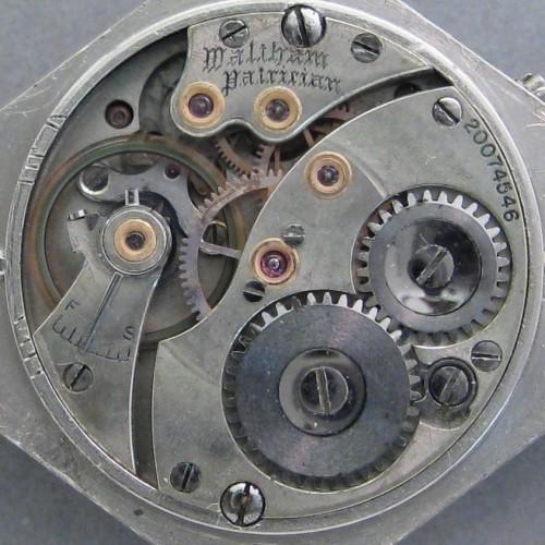 Waltham Grade Patrician Pocket Watch Image