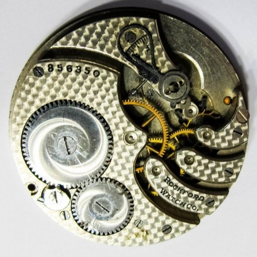 Rockford Grade 390 Pocket Watch Image