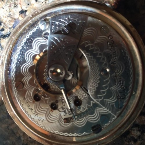 Elgin Grade 297 Pocket Watch Image