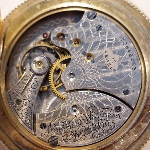 Waltham Grade Seaside Pocket Watch Image