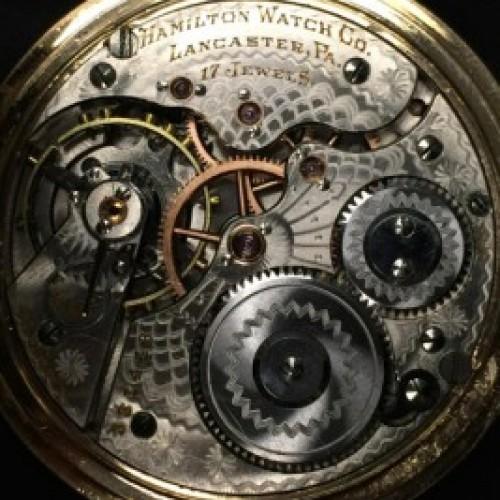 Hamilton Grade 969 Pocket Watch Image