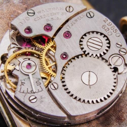 Waltham Grade No. 887 Pocket Watch Image