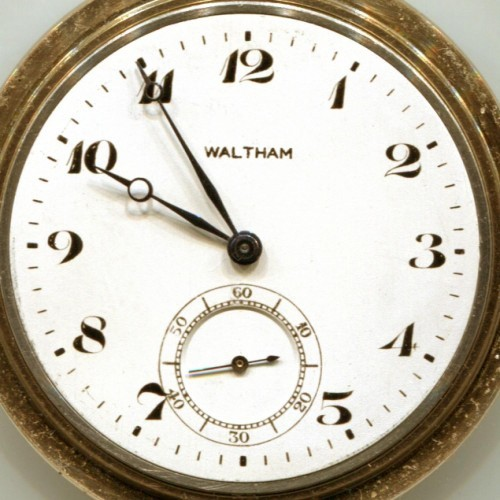 Waltham Grade No. 225 Pocket Watch Image
