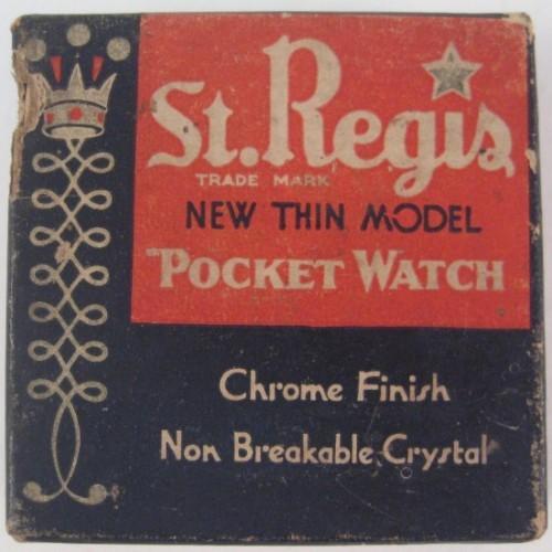 E. Ingraham Co. Grade  Pocket Watch Image