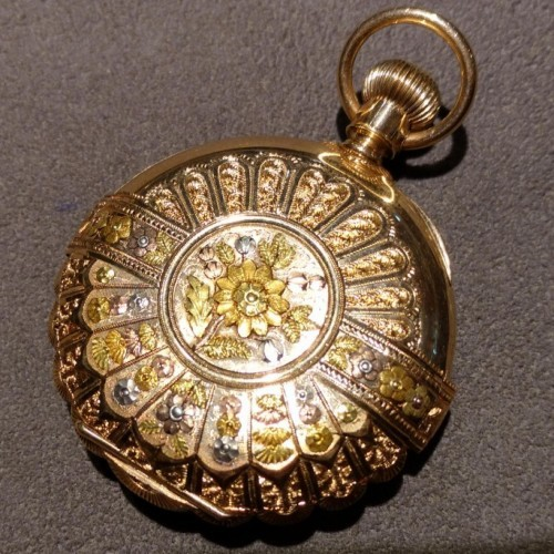 Hampden Grade No. 215 Pocket Watch Image