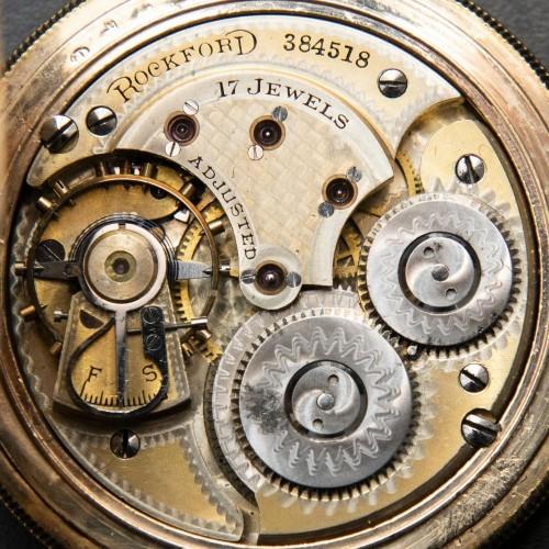 Rockford Grade 103 Pocket Watch Image