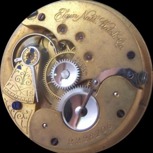 Elgin Grade 99 Pocket Watch Image