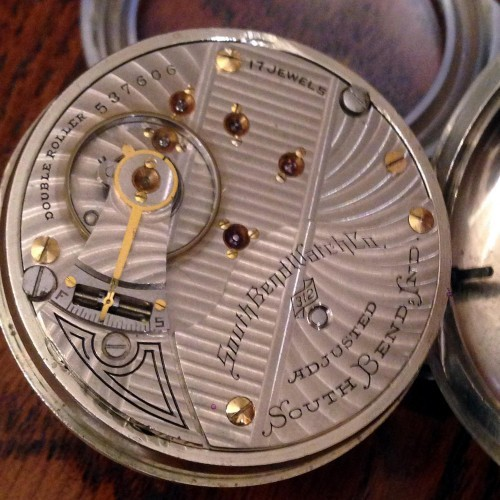 South Bend Grade 312 Pocket Watch Image