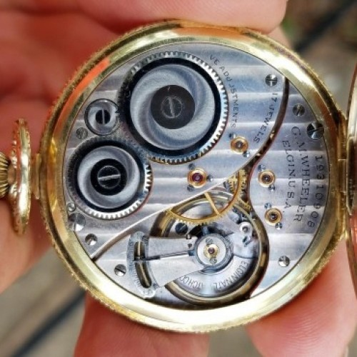 Elgin Grade 441 Pocket Watch Image