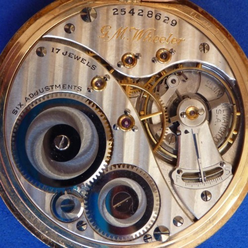 Elgin Grade 452 Pocket Watch Image