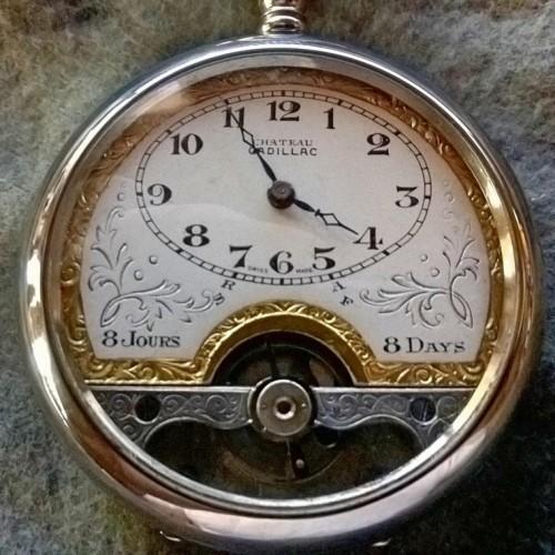 Hebdomas Grade 8  Day Pocket Watch Image