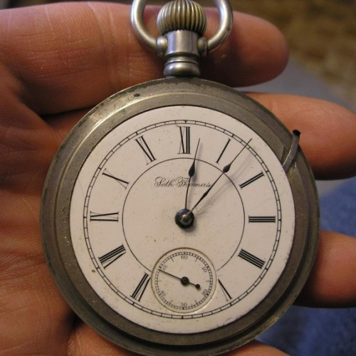 Seth Thomas Grade 36 Pocket Watch Image