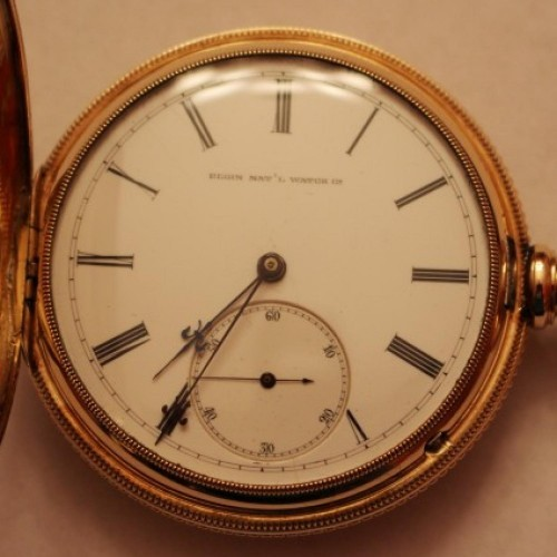 Elgin Grade 86 Pocket Watch Image