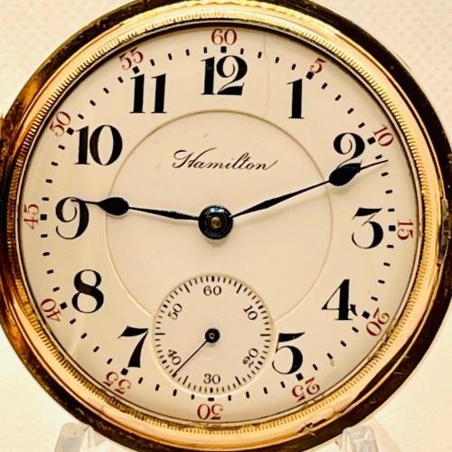 Hamilton Grade 927 Pocket Watch