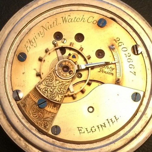 Elgin Grade 10 Pocket Watch Image