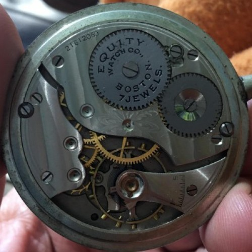 Waltham Grade No. 611 Pocket Watch Image