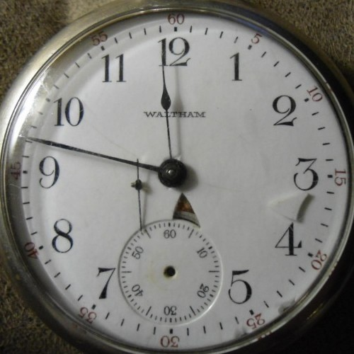 Image of Waltham No. 81 #15924490 Dial