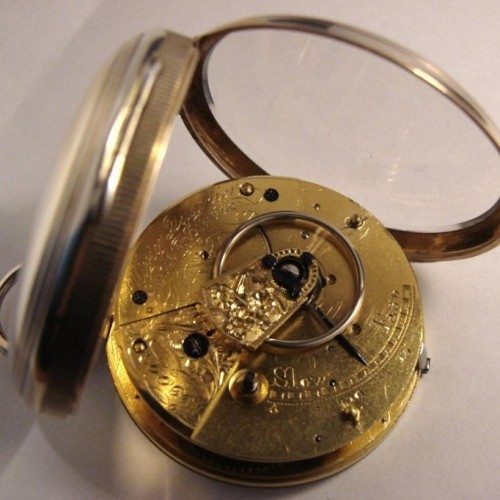 Other Grade Olivier Quartier Locle Pocket Watch Image