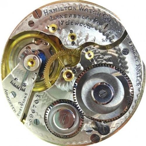 Image of Hamilton 974 Special #2596703 Movement