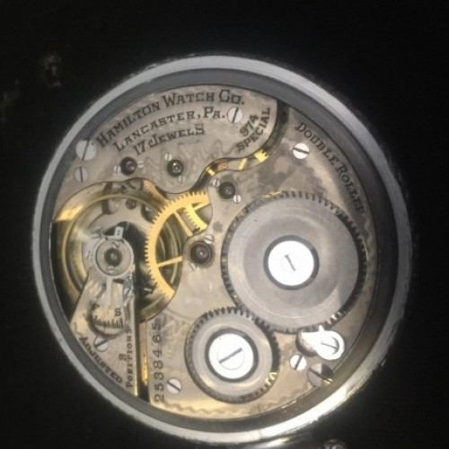 Image of Hamilton 974 Special #2538465 Movement