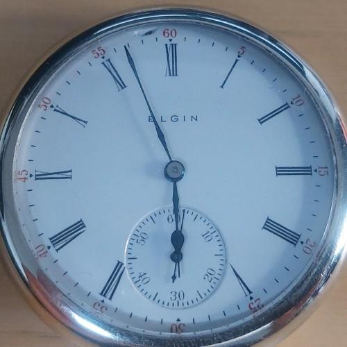 Elgin Grade 312 Pocket Watch Image