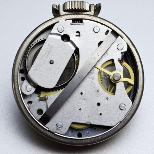 Westclox Grade Pocket Ben Pocket Watch Image