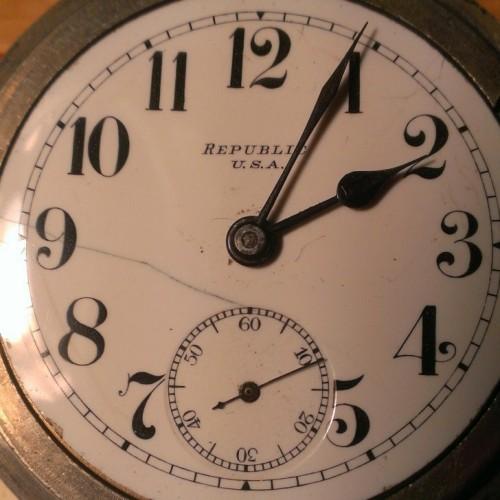 Seth Thomas Grade Trainmen's Special Pocket Watch Image