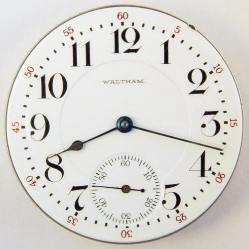 American Watch Co. Grade Vanguard Pocket Watch Image