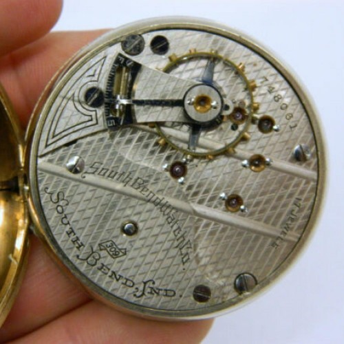 South Bend Grade 309 Pocket Watch Image