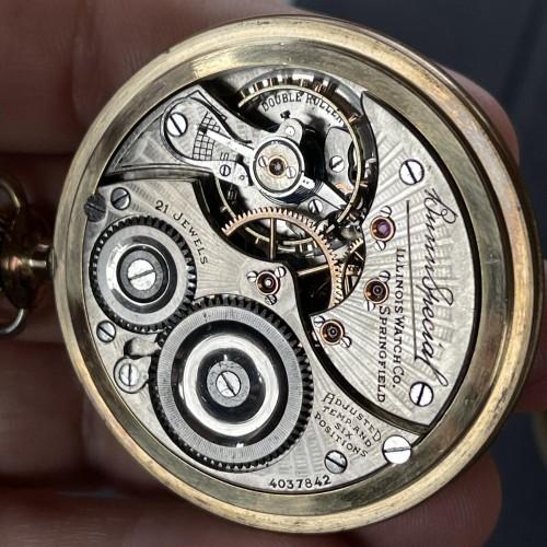 Illinois Grade Bunn Special Pocket Watch Image