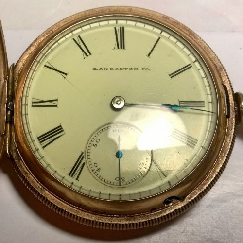 Lancaster Watch Co. Grade West+End Pocket Watch Image