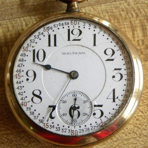Image of Waltham No. 645 #20040466 Dial