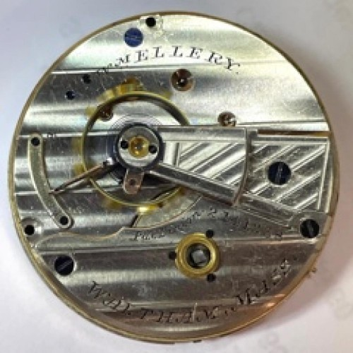 American Watch Co. Grade William Ellery Pocket Watch Image