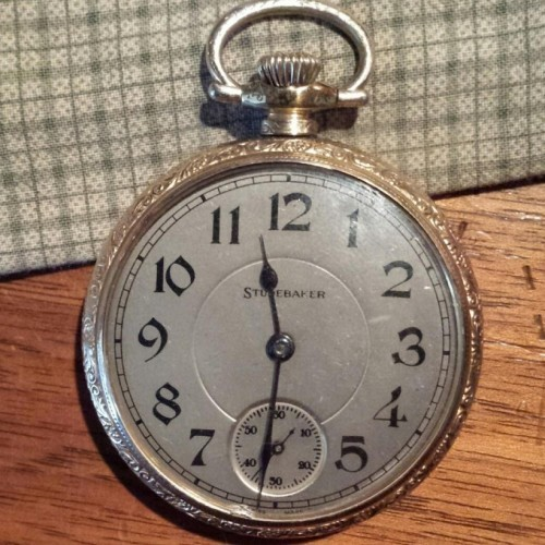 South Bend Grade  Pocket Watch Image