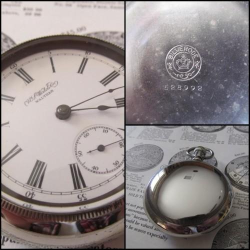 U.S. Watch Co. (Waltham, Mass) Grade 48 Pocket Watch Image