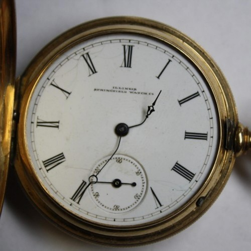Illinois Grade Rose Leland Pocket Watch Image