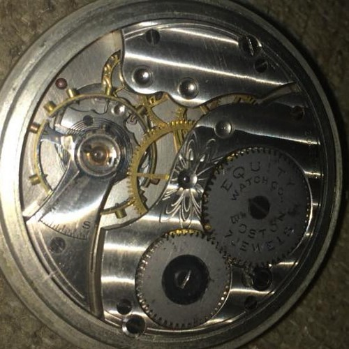 Waltham Grade Equity Pocket Watch Image