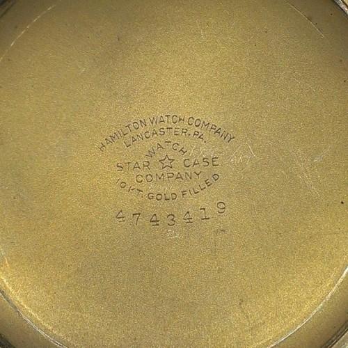 Image of Hamilton 992B #C55802 Case