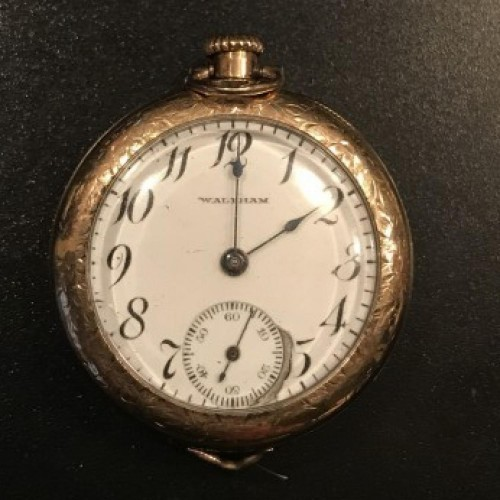 Waltham Grade No. 315 Pocket Watch Image