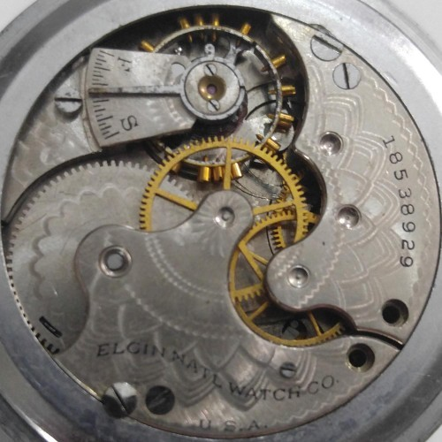 Elgin Grade 286 Pocket Watch Image
