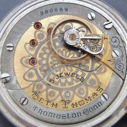 Seth Thomas Grade Unknown Pocket Watch Image