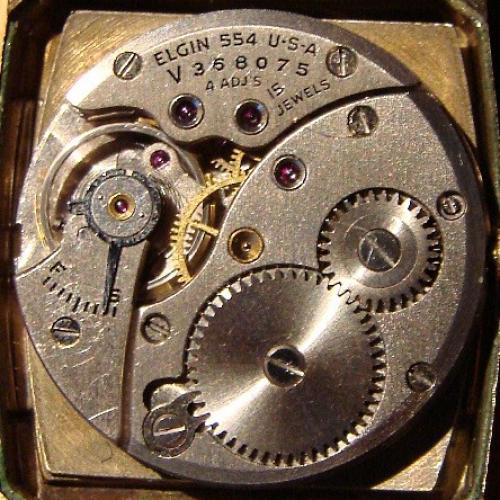 Elgin Grade 554 Pocket Watch Image